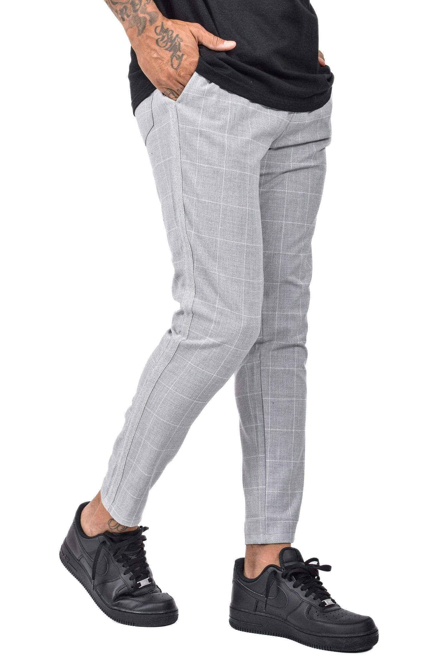 Vigo Squared Pants Grey - PEGADOR - Dominate the Hype