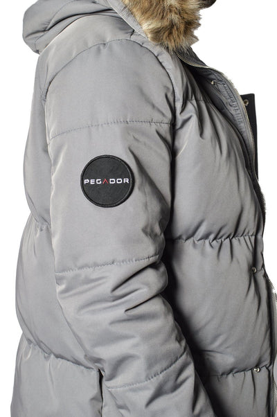 PEGADOR - Lonzo Puffer Parka Grey - PEGADOR - Dominate the Hype