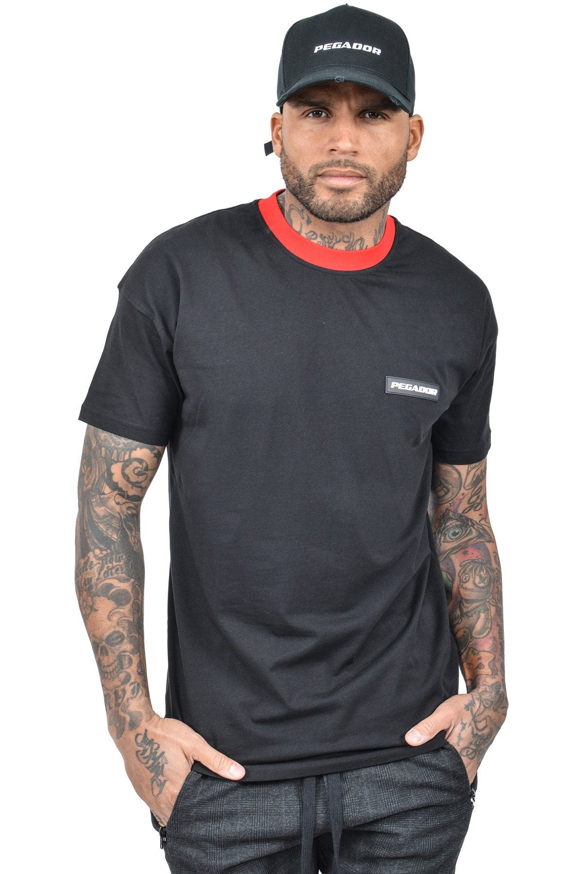 Caio T-Shirt Black - PEGADOR - Dominate the Hype
