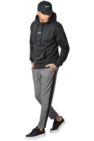 PEGADOR - Luca Stripe Pants Black White - PEGADOR - Dominate the Hype