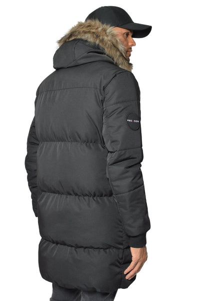 PEGADOR - Lonzo Puffer Parka Black - PEGADOR - Dominate the Hype