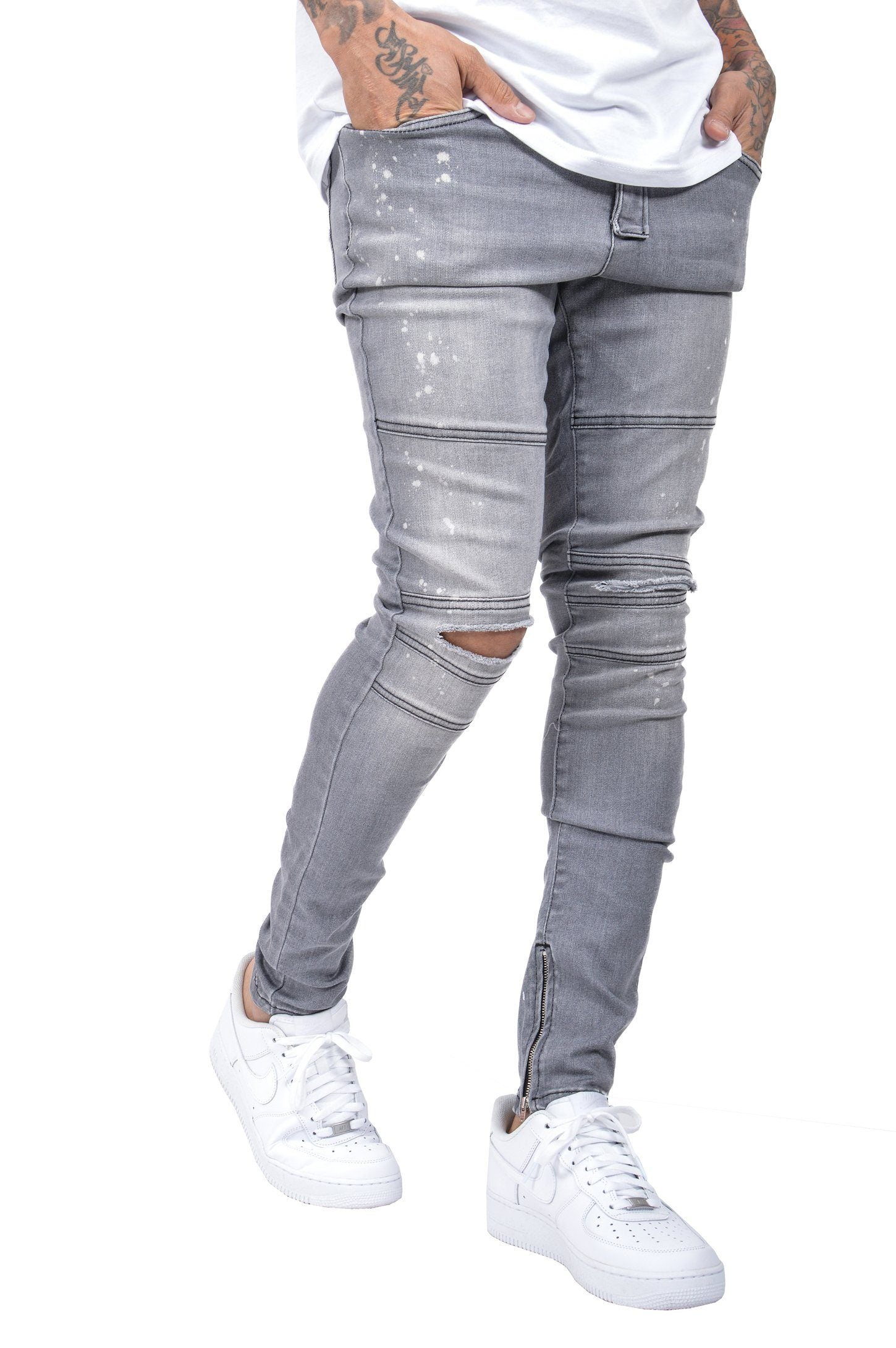 Thiago Denim Grey