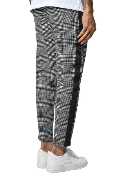 Luca Stripe Pants Black