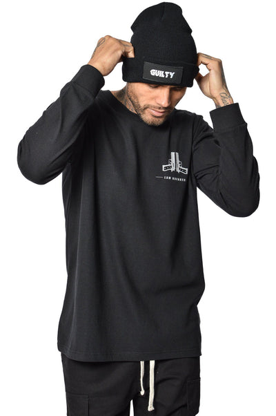 Jax Lawbreaker Longsleeve Black - PEGADOR - Dominate the Hype