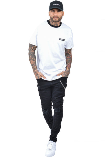 Caio T-Shirt White - PEGADOR - Dominate the Hype