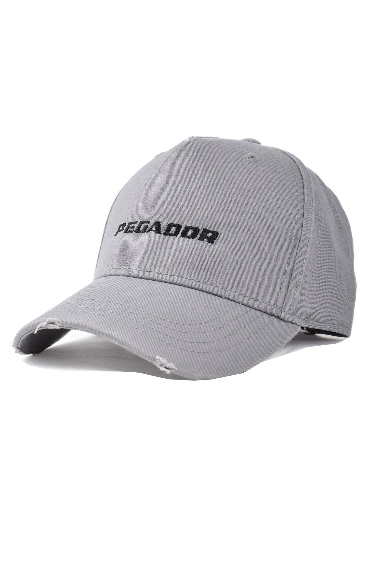 Reo Destroyed Cap Grey Headwear PEGADOR