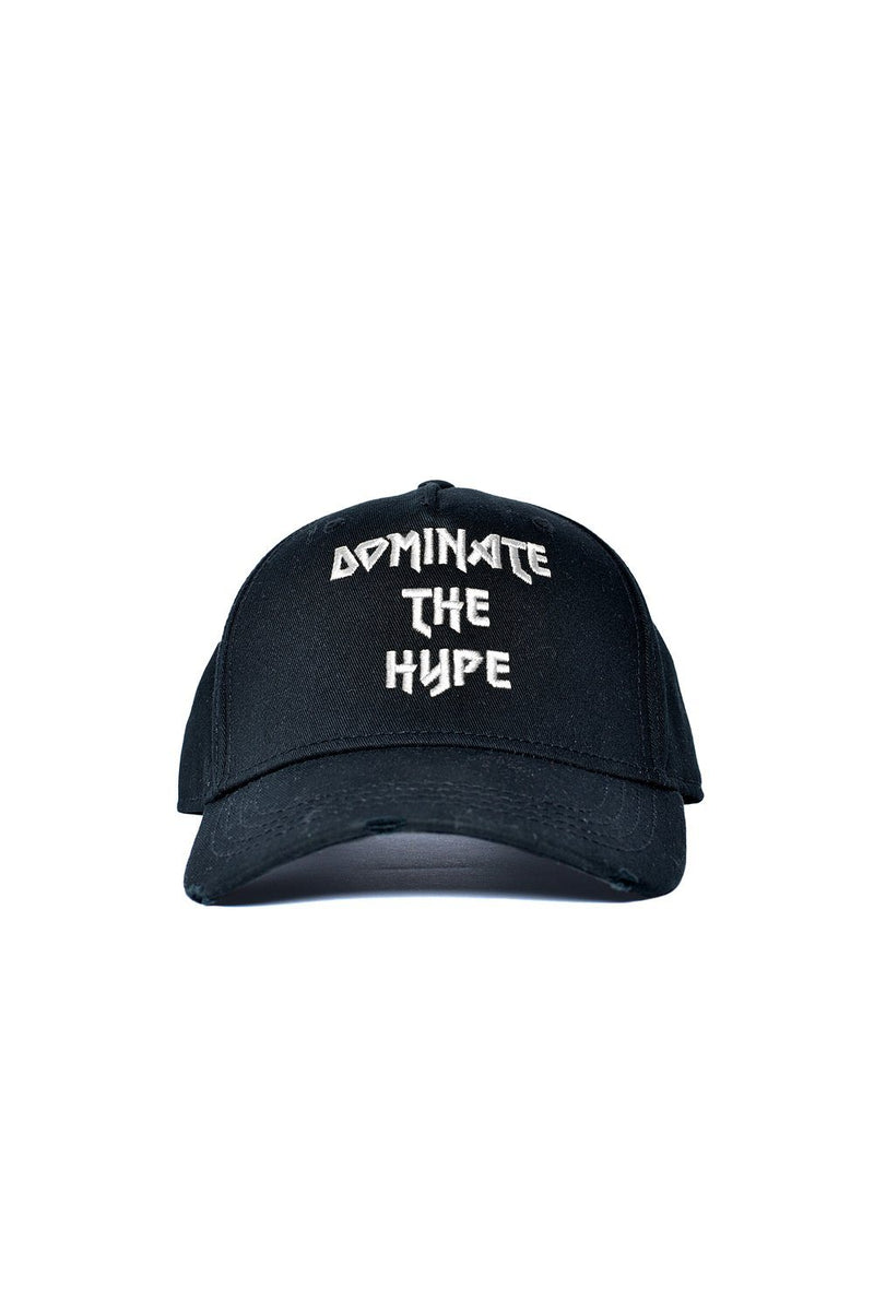 Dominate the hype Destroyed Cap Black Silver - PEGADOR - Dominate the Hype