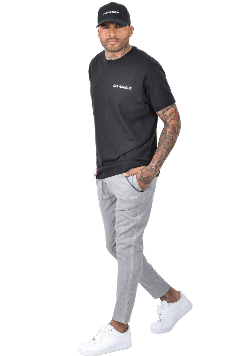 Oviedo Logo Pants Light Grey