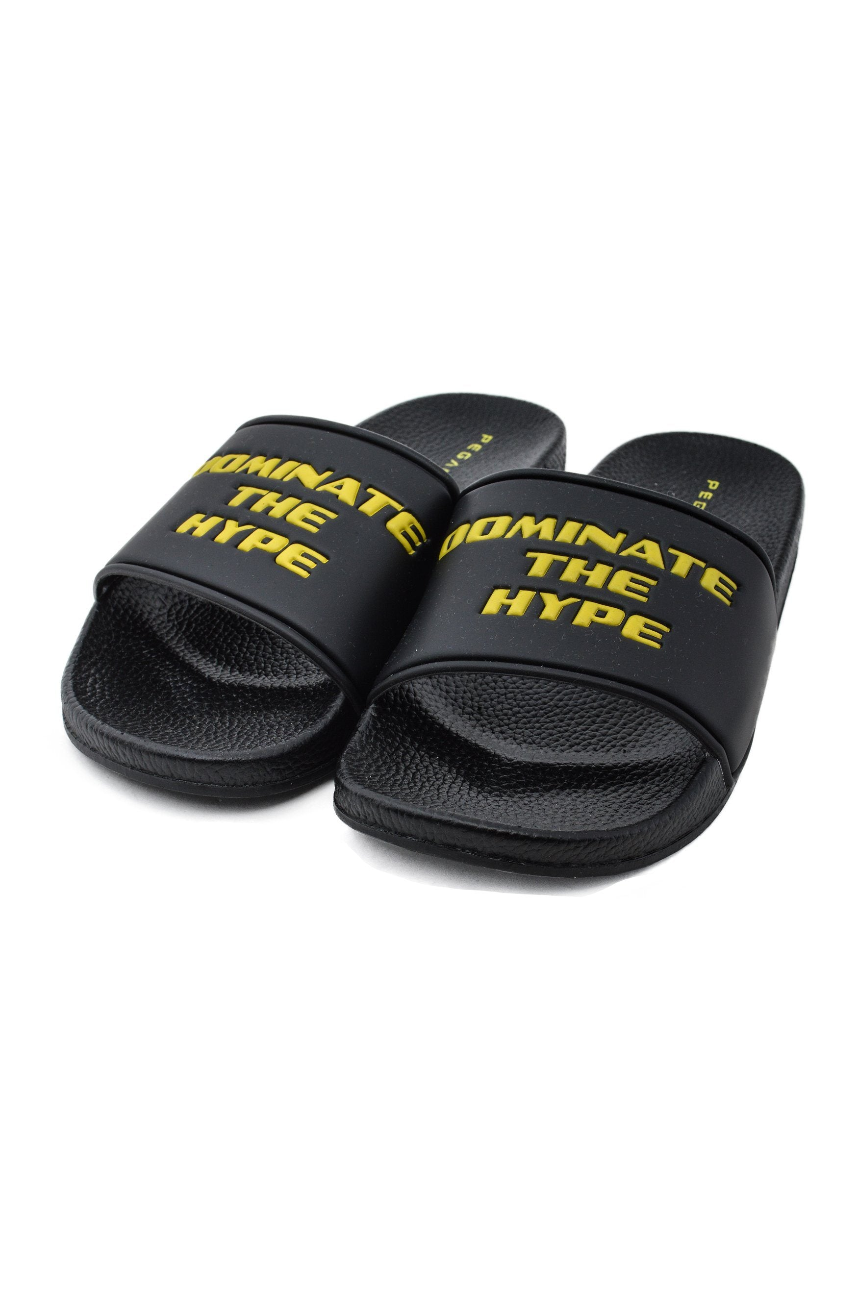 Dominate The Hype Sliders Black Shoes PEGADOR