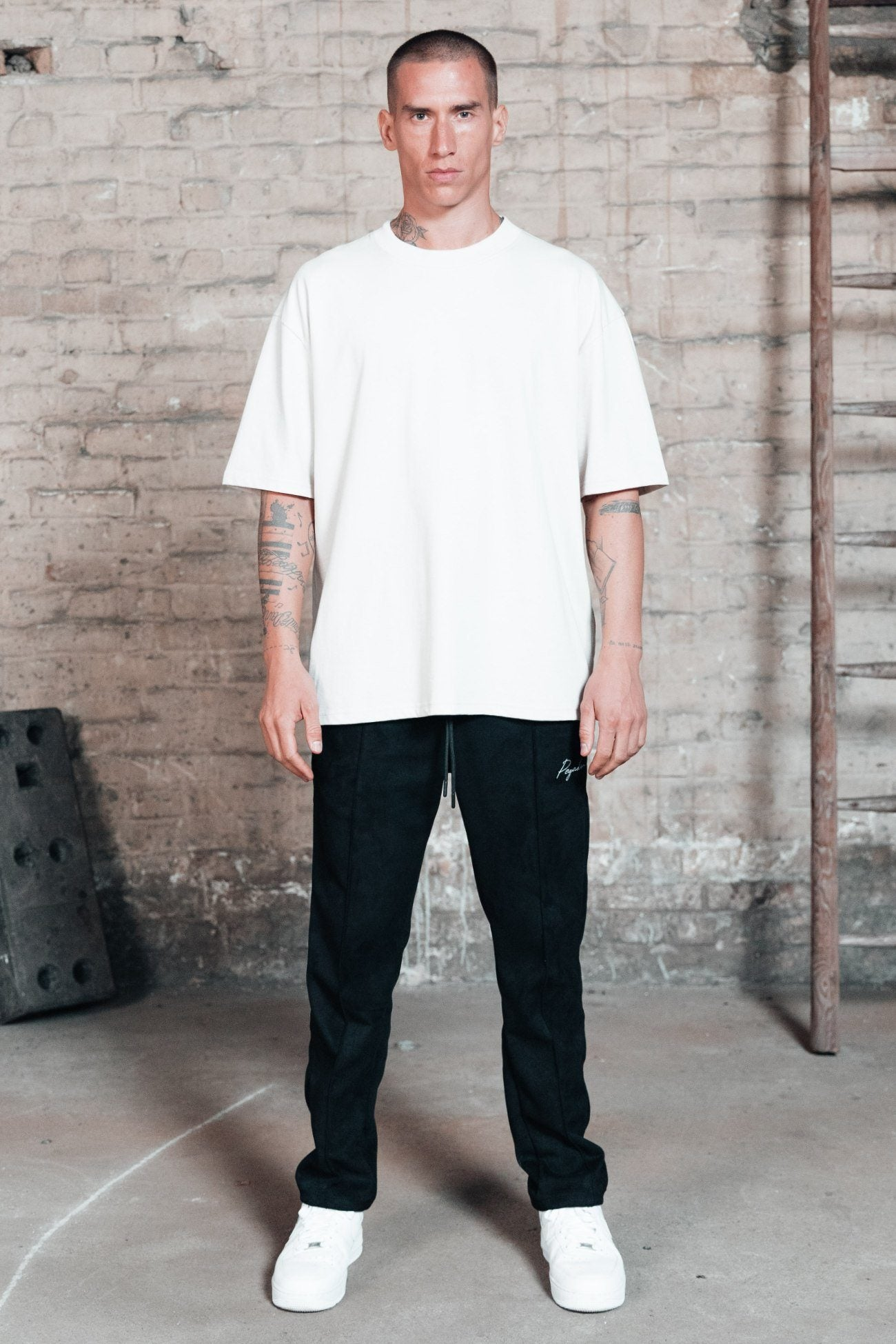 Heavy Oversized Tee White T-SHIRT One blood