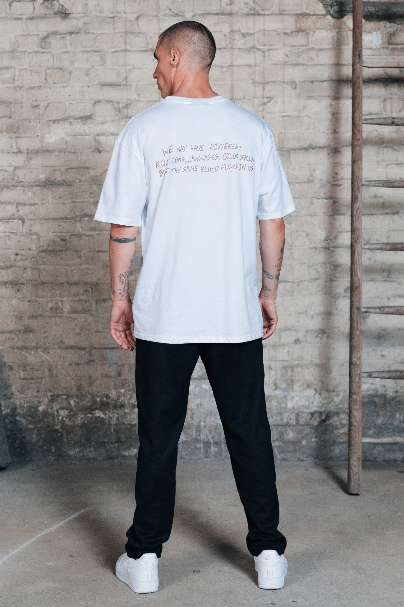 Oakland Oversized Tee White T-SHIRT One blood