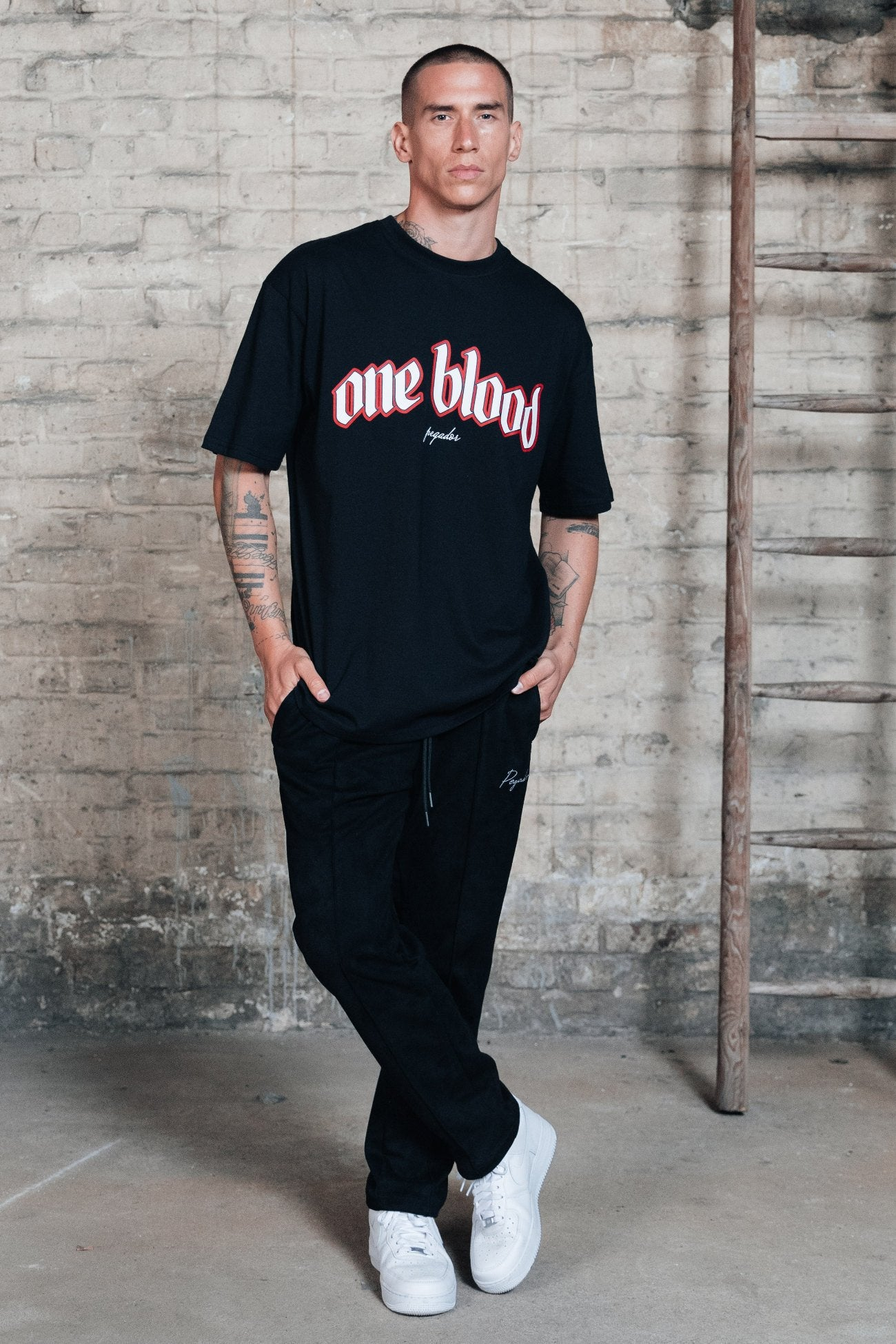 Oneblood Oversized Tee Black T-SHIRT One blood