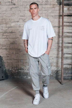 One blood - Reno Woven Cargo Pants Khaki - $69.95