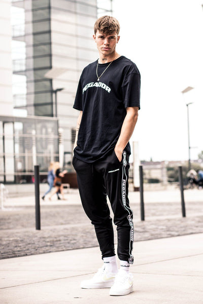 Craig Oversized Tee Black - PEGADOR - Dominate the Hype