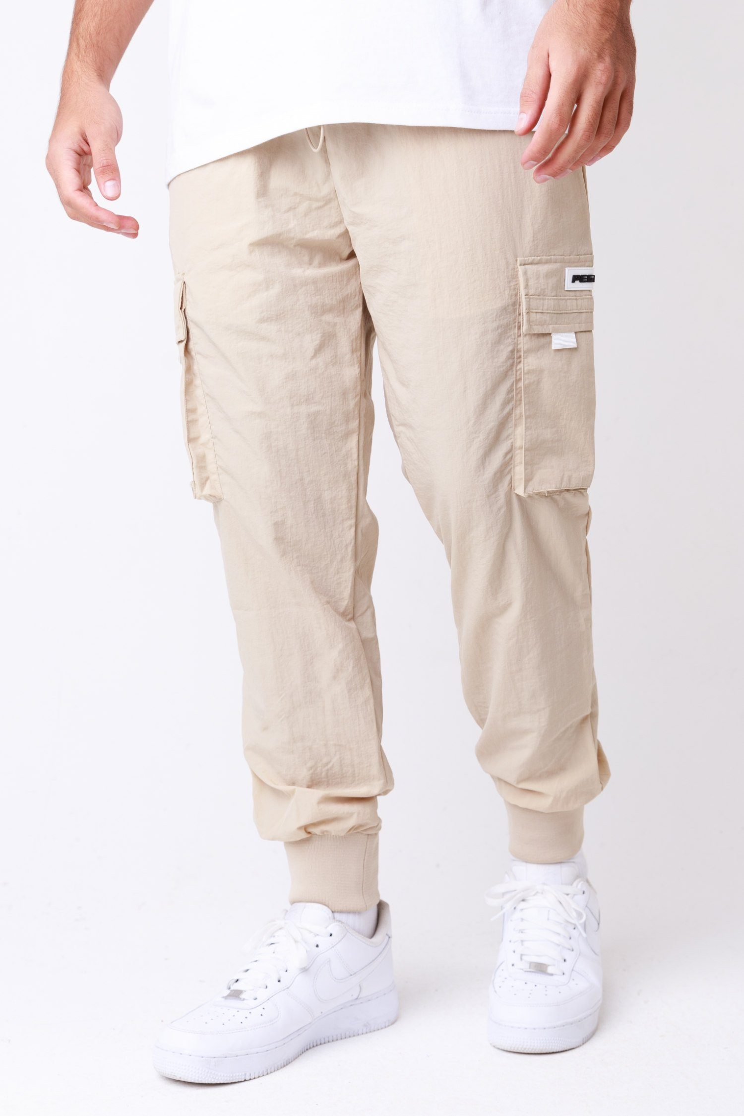 Reno Woven Cargo Pants Sand BOTTOMS One blood