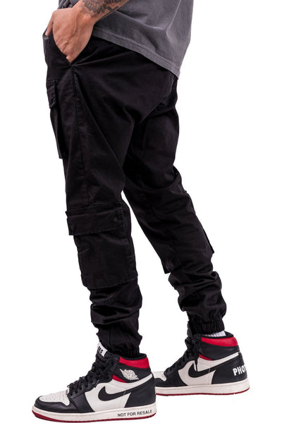 Lyon Cargo Pants Black - PEGADOR - Dominate the Hype