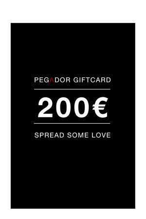 PEGADOR - 200€ Gift Card - PEGADOR - Dominate the Hype