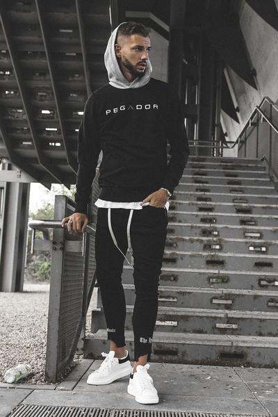 PEGADOR - Marvin Hoodie Black - PEGADOR - Dominate the Hype