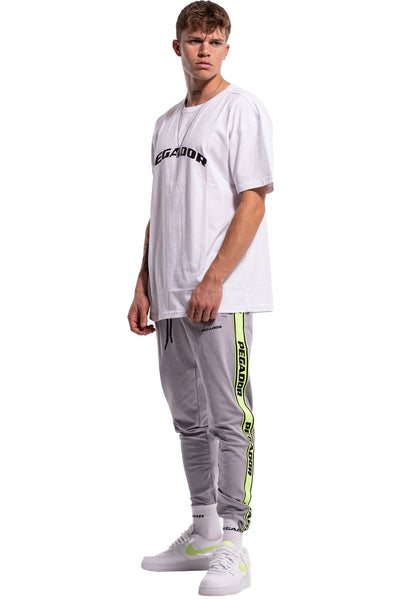 Logo Sweat Pants Grey - PEGADOR - Dominate the Hype