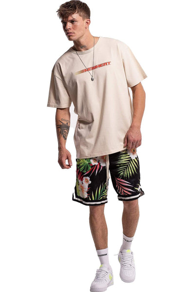 Alec Oversized T-Shirt Sand - PEGADOR - Dominate the Hype