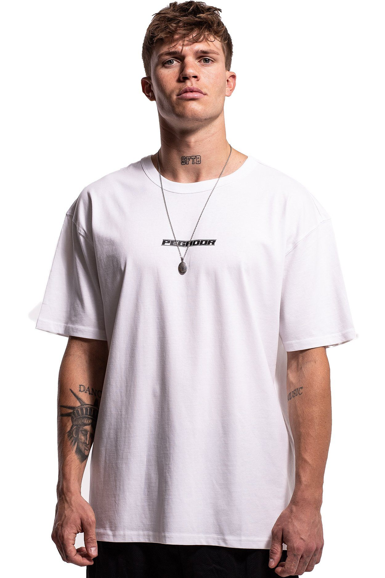 Tellis Oversized T-Shirt White