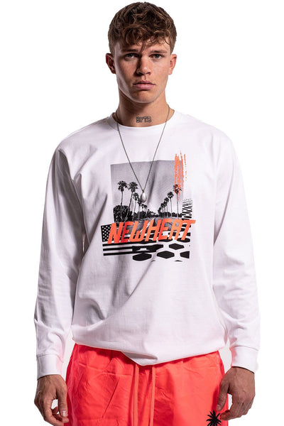Brad Longsleeve White - PEGADOR - Dominate the Hype