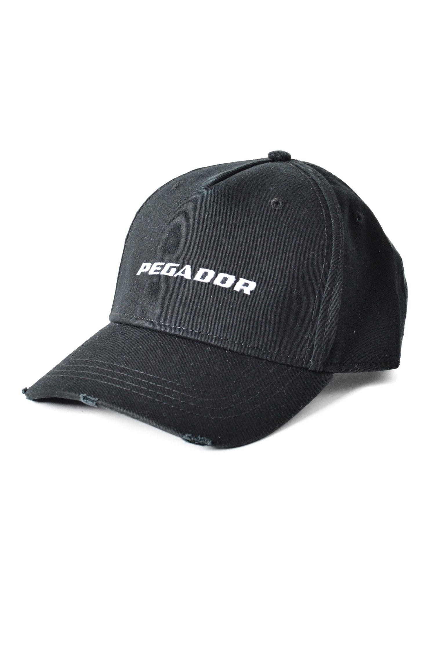 Reo Destroyed Cap Black Headwear PEGADOR