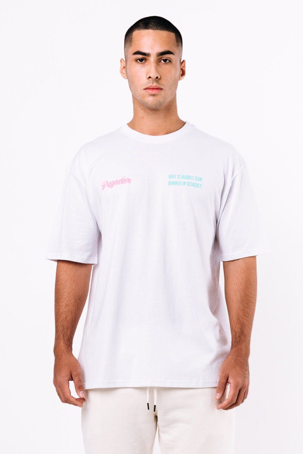 Kent Oversized Tee White