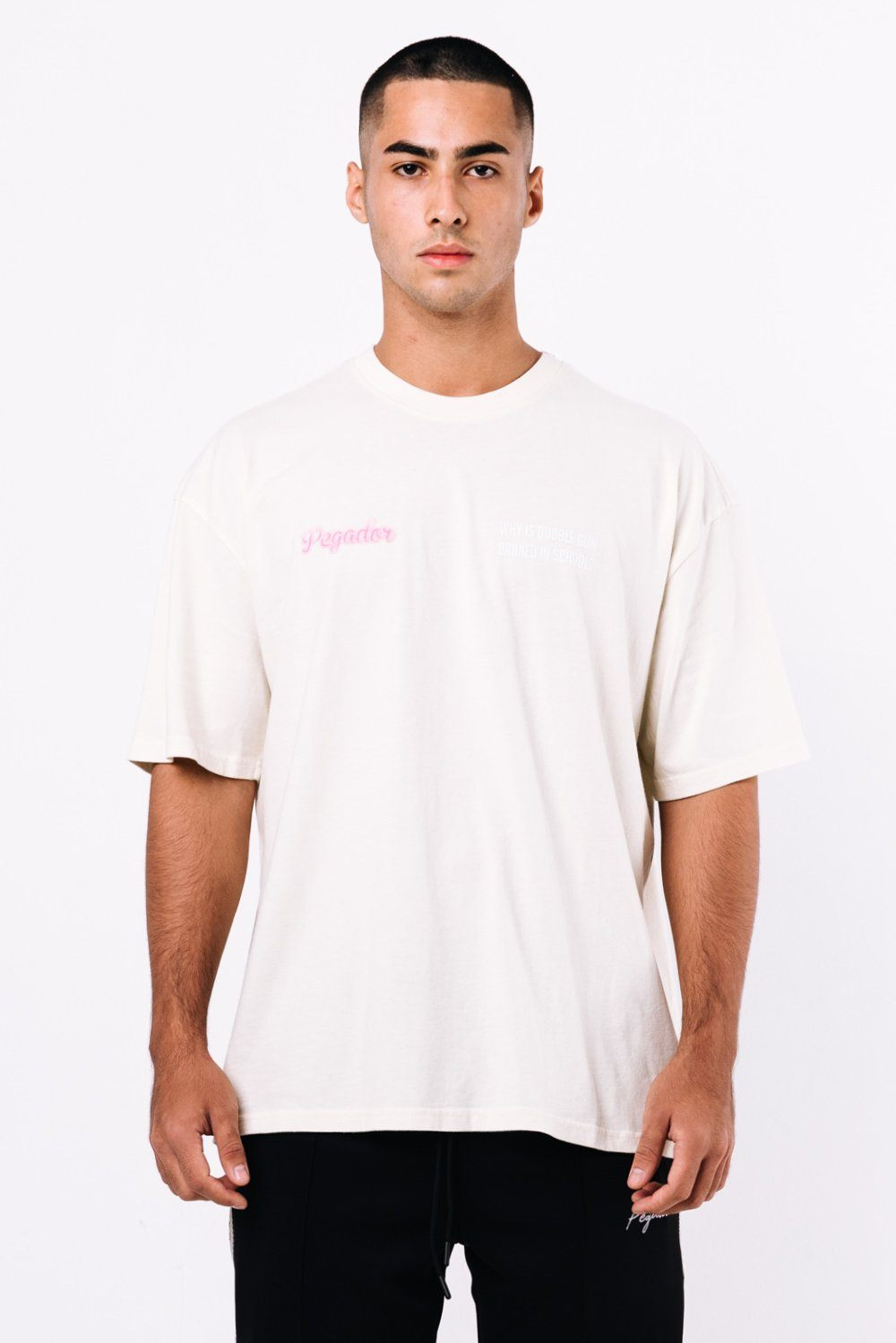 Kent Oversized Tee Washed Vanilla
