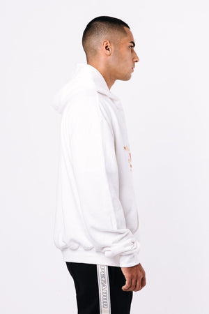 SCHOOL´S OUT - Wells Oversized Hoodie White - $79.95