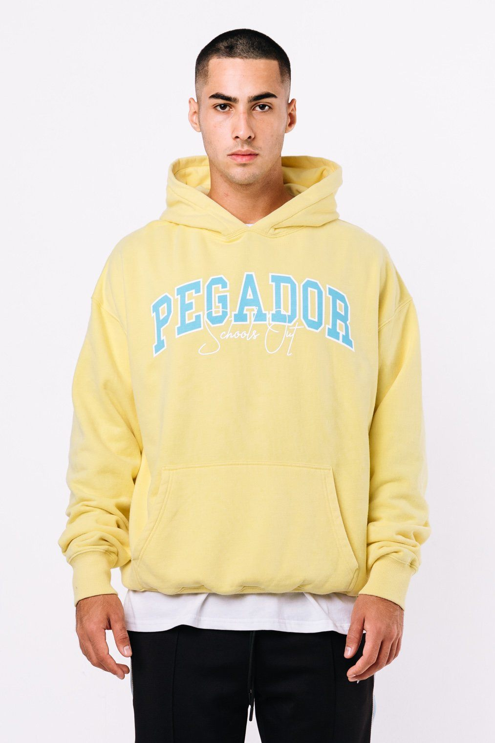 Vista Oversized Hoodie Washed Lemon