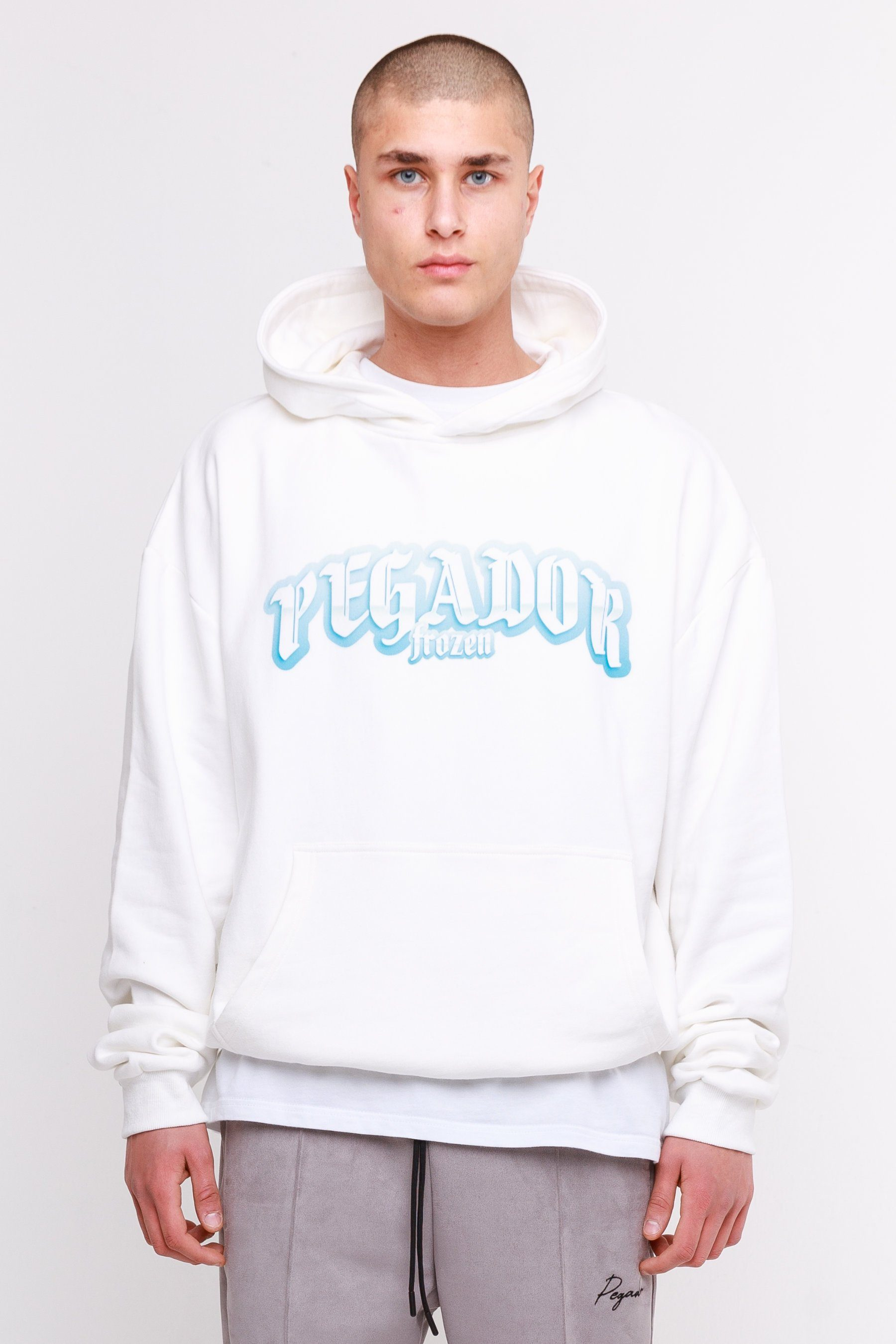 Willow Oversized Hoodie White HOODIE Frozen