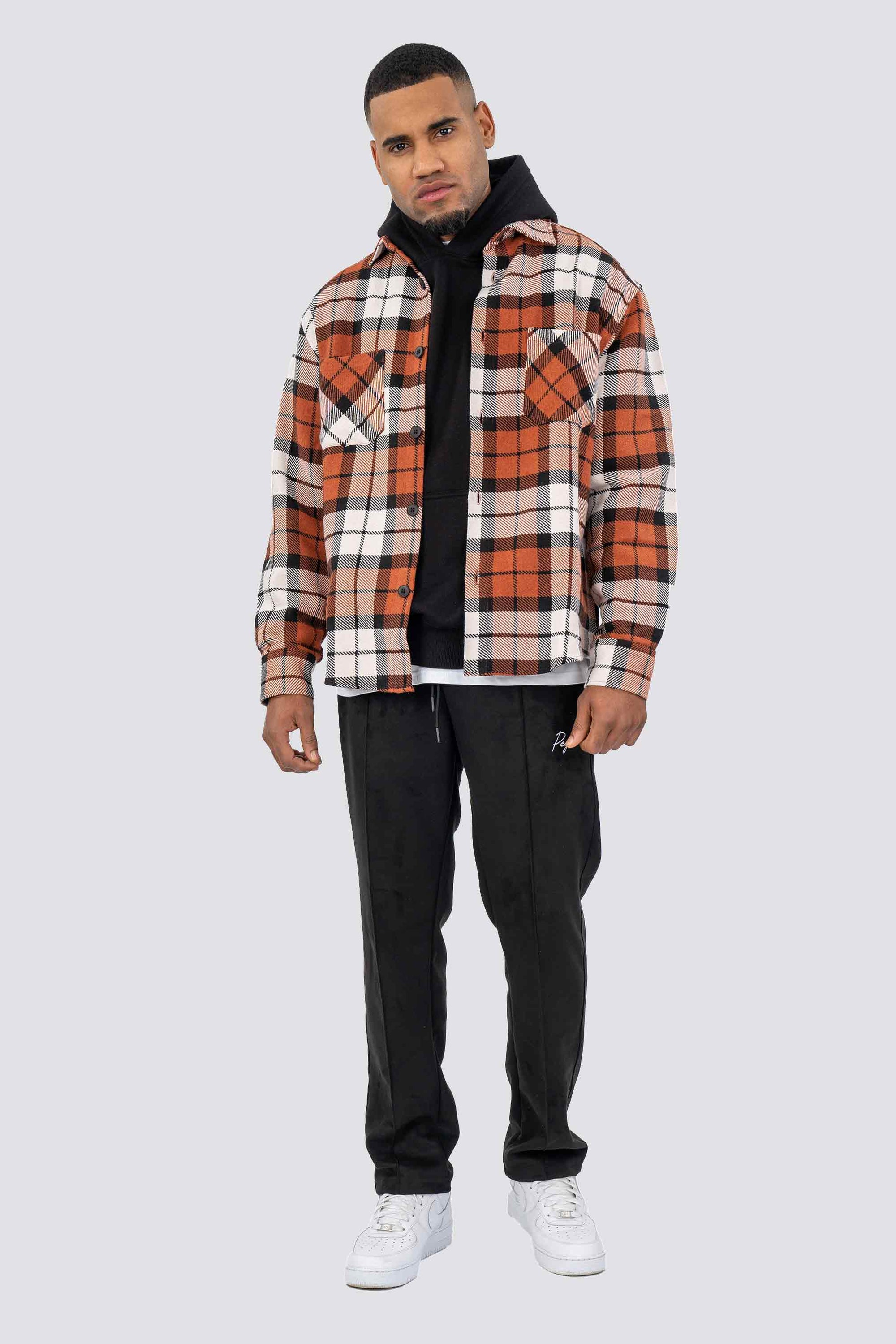 Delta Heavy Flannel Shirt Rust SHIRT One blood