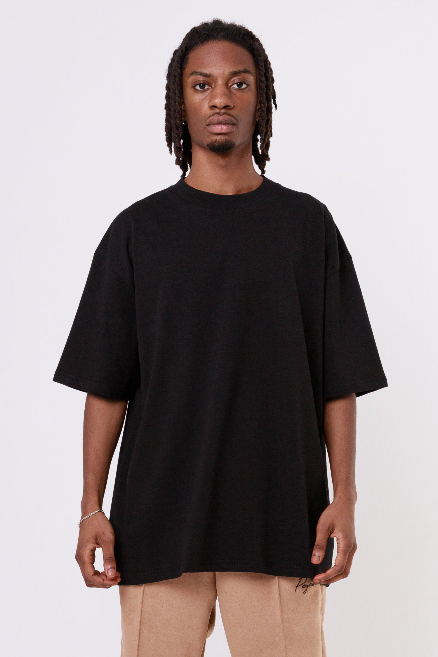 Heavy Oversized Tee Black T-SHIRT One blood