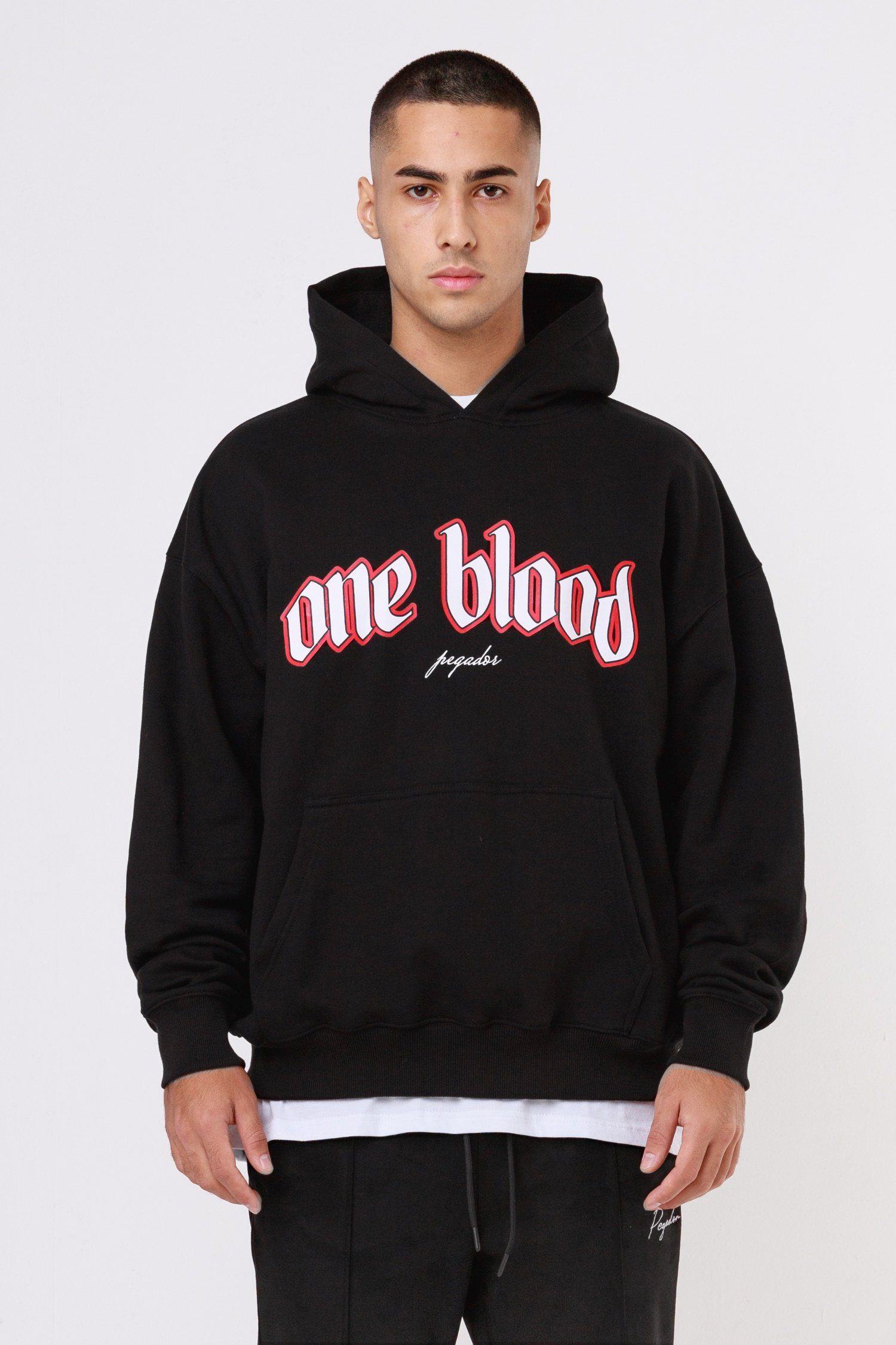 Oneblood Oversized Hoodie Black Hoodies One blood