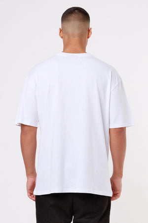 One blood - Oneblood Oversized Tee White - $44.95