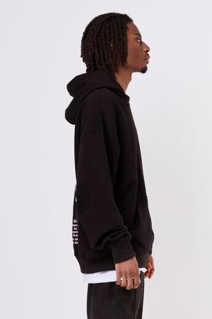 One blood - World Oversized Hoodie Black - $79.95