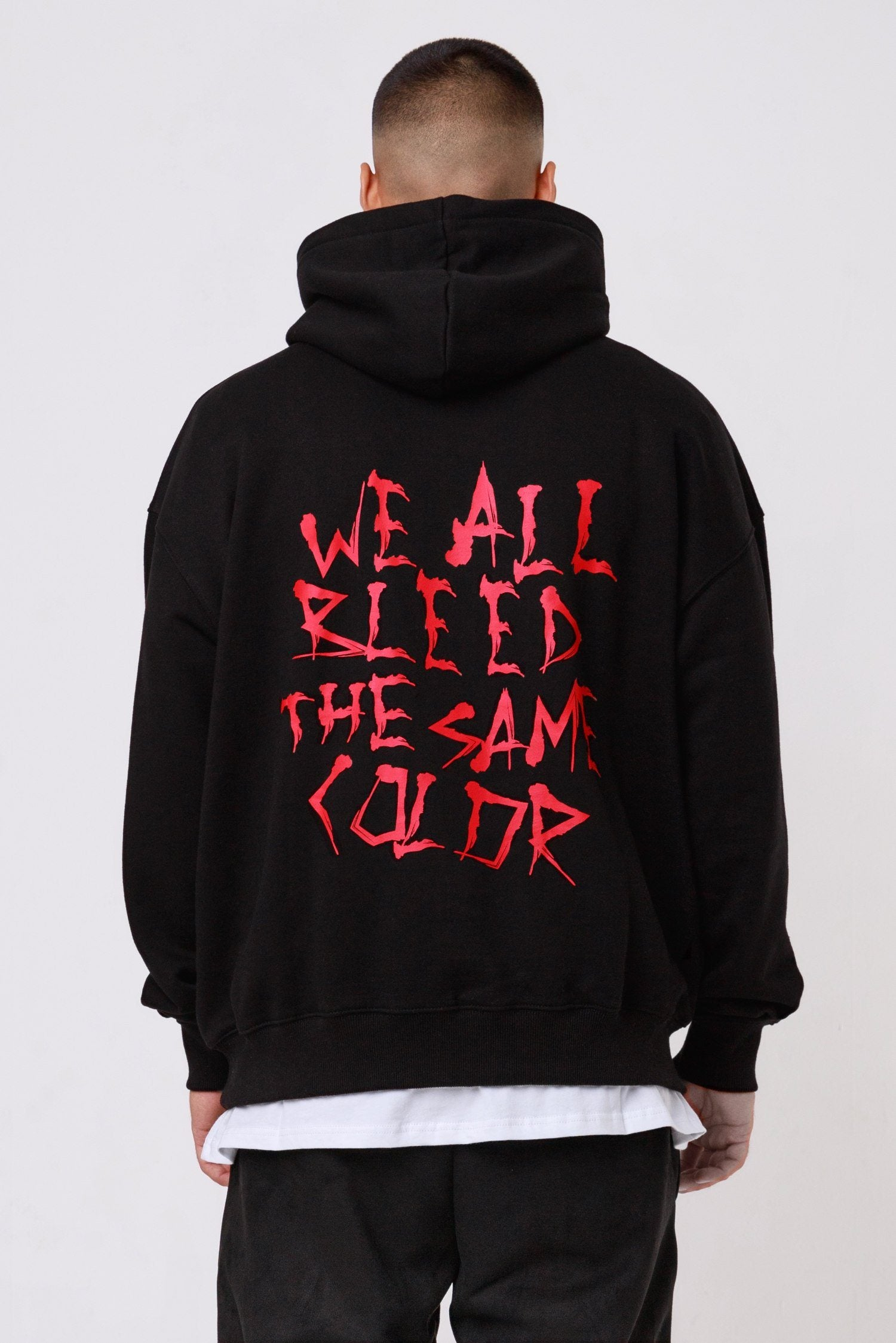 Malibu Oversized Hoodie Black Hoodies One blood