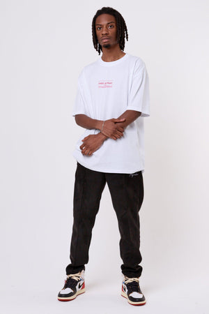 One blood - Malibu Oversized Tee White - $44.95