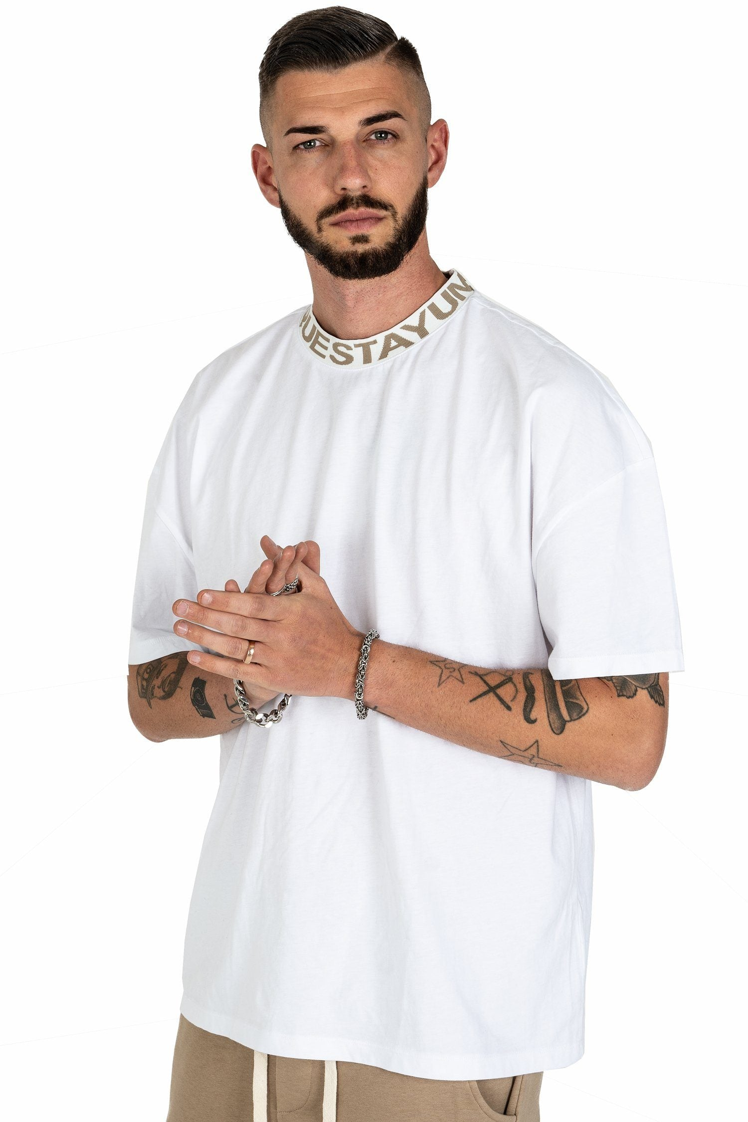 Fio Oversized Tee White - PEGADOR - Dominate the Hype