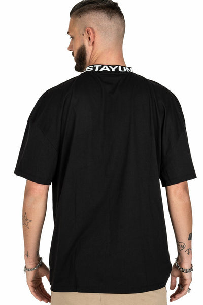 Fio Oversized Tee Black - PEGADOR - Dominate the Hype