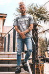 Torin Oversized Tee Washed Grey - PEGADOR - Dominate the Hype
