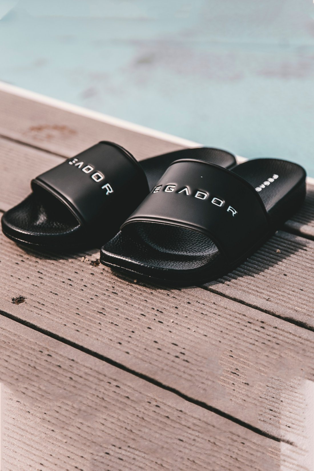 Pegador Sliders Black Shoes PEGADOR