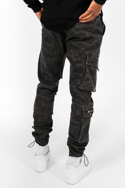 Kobe Military Cargo Jeans - PEGADOR - Dominate the Hype
