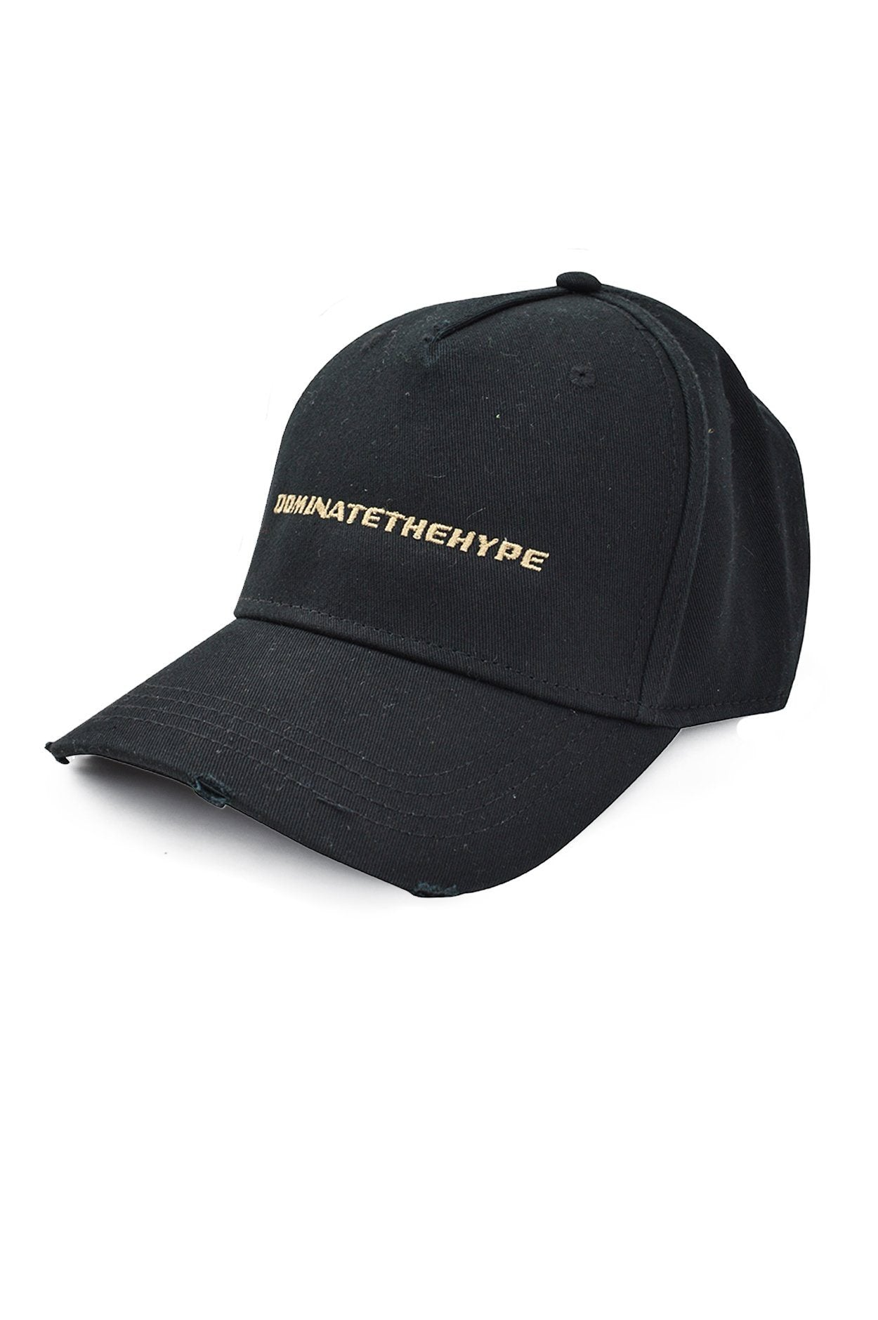 Dominate The Hype Destroyed Cap Black - PEGADOR - Dominate the Hype