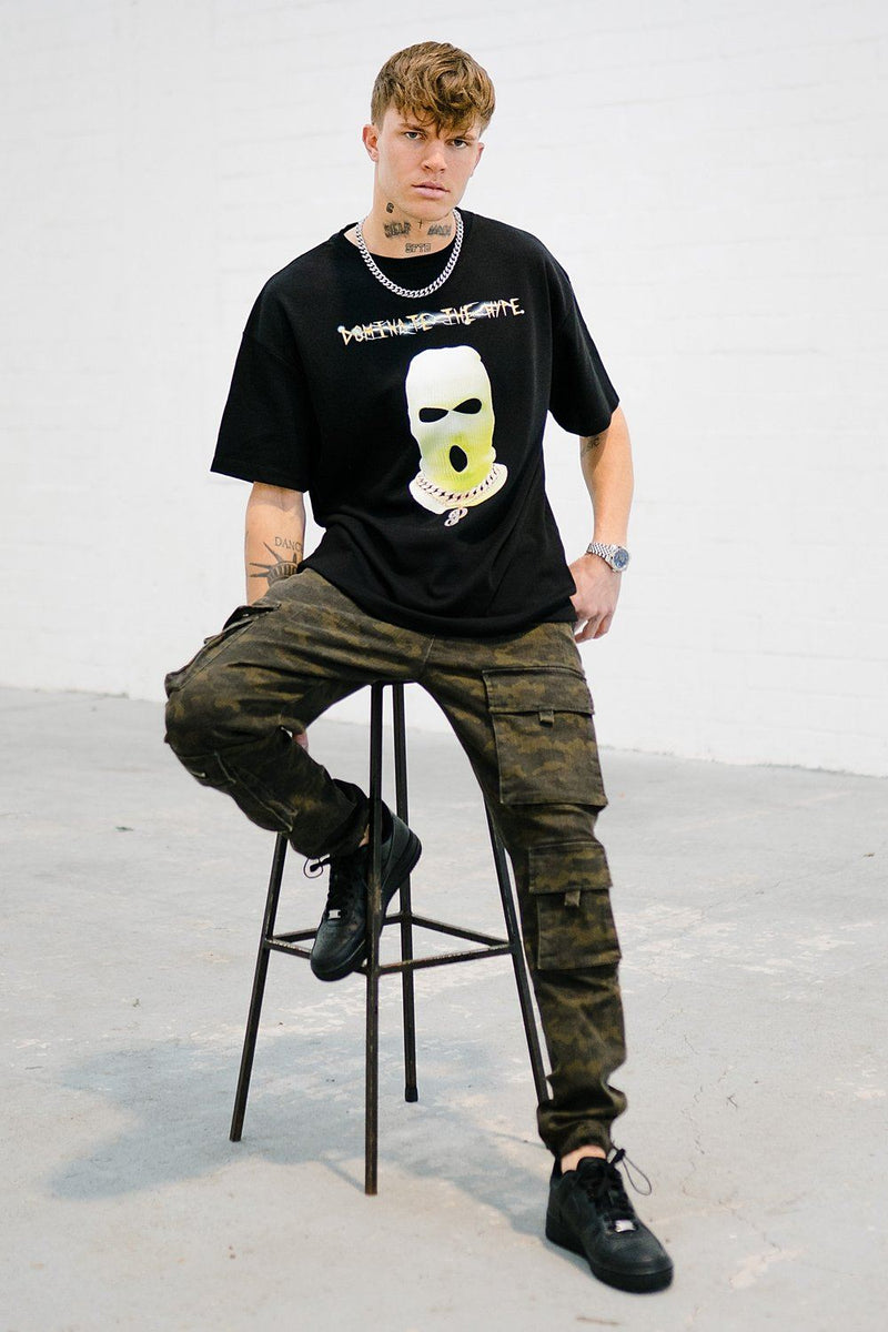 Dallas Oversized Tee Black - PEGADOR - Dominate the Hype