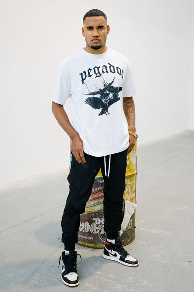 Colon Oversized Tee White - PEGADOR - Dominate the Hype
