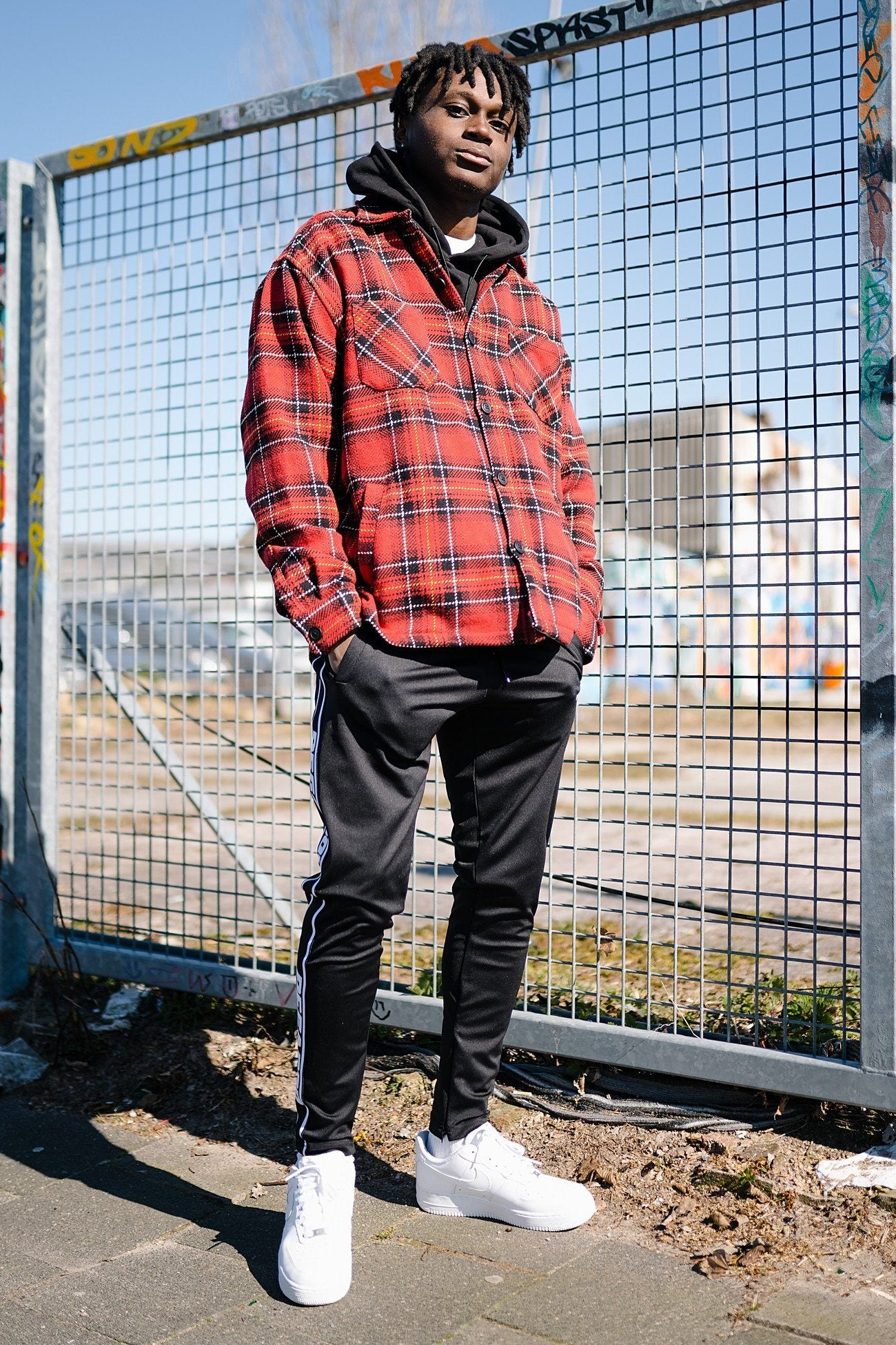 Flato Heavy Flannel Shirt Lava Red SHIRT PEGADOR