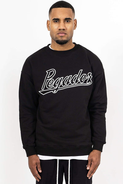 Tyler Oversized Crewneck Black - PEGADOR - Dominate the Hype