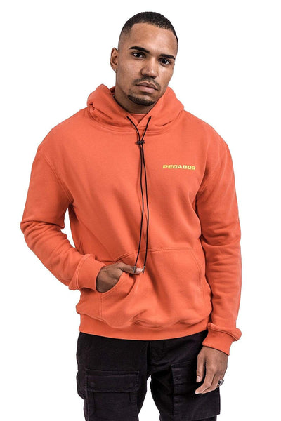 Xico Private Hoodie Washed Red - PEGADOR - Dominate the Hype